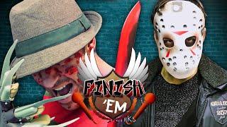 Freddy vs Jason - FINISH HIM!