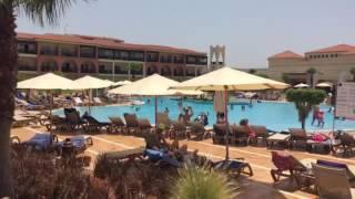 Asi esta la piscina del Belive Saidia esta mañana jun16