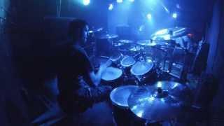 PUTRIDITY - European Deformity Tour 2 - Abortifacient Whore Lobotomizer - Live in Vienna (Drumcam)