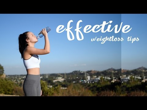 6 EASY weightloss tips that will make a BIG difference