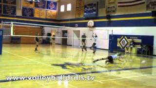 Volleyball Fun Drill: Queen of the Court