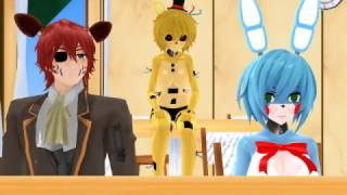 [MMD X Five Nights at Freddy's X Five Nights in Anime] Food Or Sex