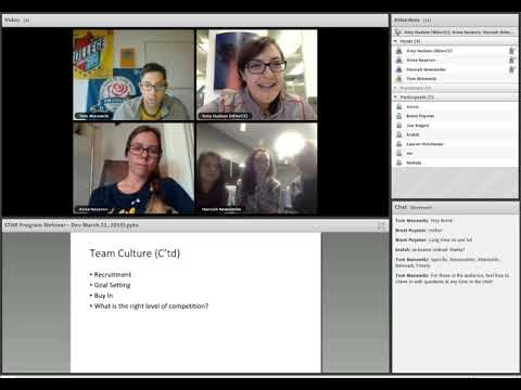 Video Thumbnail: STAR Webinar: Developmental Teams (2018)