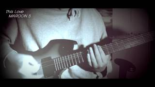 MAROON 5 - This Love  (VOCAL + GUITAR METAL COVER) leo moracchioli ver.