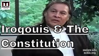 The Iroqouis Influence on the Constitution
