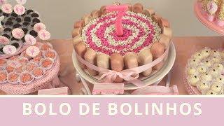 DIY BOLO DE BOLINHOS - Mãe de Primeira Viagem #113