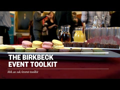 The Birkbeck Event Toolkit