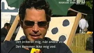 Audioslave - Cochise, interview - Roskilde Festival 2005