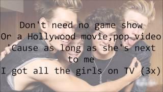 The Vamps - Girls on TV (with Lyrics)