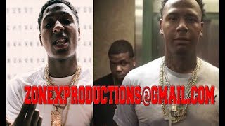 NBA Youngboy FIGHTS Moneybagg yo,bagg punches being banned from memphis!WACTH