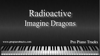 Radioactive - Imagine Dragons Piano Accompaniment Karaoke/Backing Track