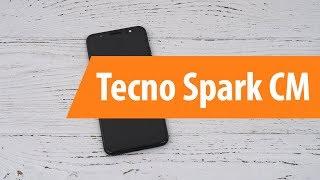 Распаковка смартфона Tecno Spark CM / Unboxin Tecno Spark CM