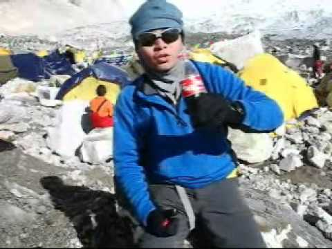 Rickie's Nepal Trip 2007 – Rickie @ Nepal Everest Base Camp (EBC)