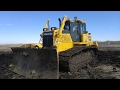 Komatsu D65PXI Review And Slot Dozing