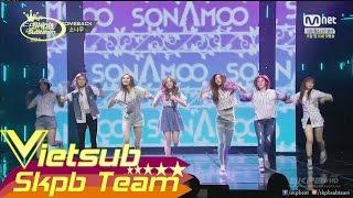 [Vietsub] [Live] 150226 SONAMOO (소나무) - Just Go (가는거야) @ M! Countdown [1080p]