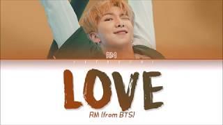 BTS (방탄소년단) - LOVE (Trivia 承) (Color Coded Lyrics Eng/Rom/Han/가사)