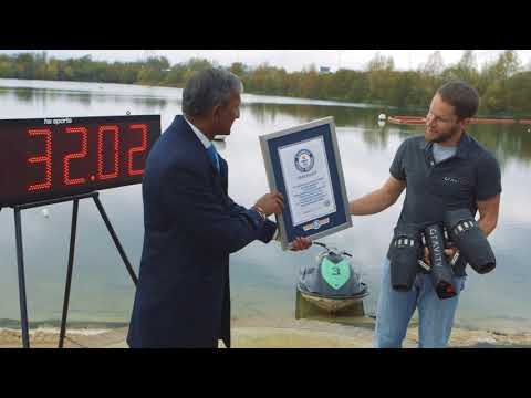 Real-life Iron Man Breaks Guinness World Record!