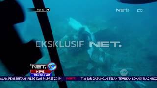 Tim NET dan TNI AL Berhasil Temukan Puing Pesawat Lion Air JT 610   NET10