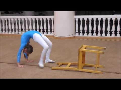 Amazing Contortion Girls: Bendy Gymnastics Contest In A Circus School