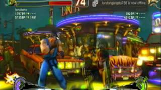 SSFIV AE Online: Tenxbenx (Bison) v Kaks07 (Ryu)