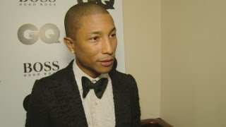 GQ Awards 2013: Pharrell Williams talks working with Justin Bieber and his summer success