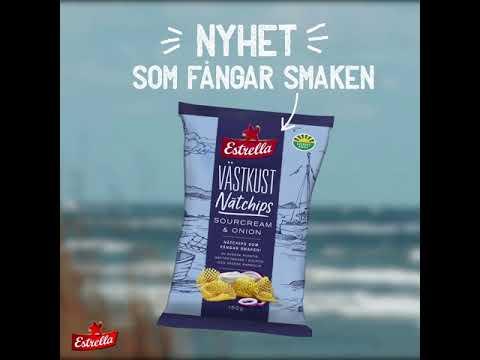 Västkust Nätchips som fångar smaken! (1:1)