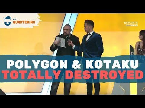 Kotaku DESTROYED At eSports Awards! Polygon & Waypoint Eviscerated Too!
