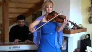 "WEDDING VIOLIN   - Hallelujah  from  film "" Shrek ""   violin  cover"
