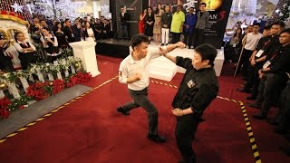 Ip Man 3 葉問3 Special performance by Ip Man Wing Chun Penang