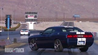 Dodge Challenger SRT8 392 vs. Shelby GT350 | Road and Track