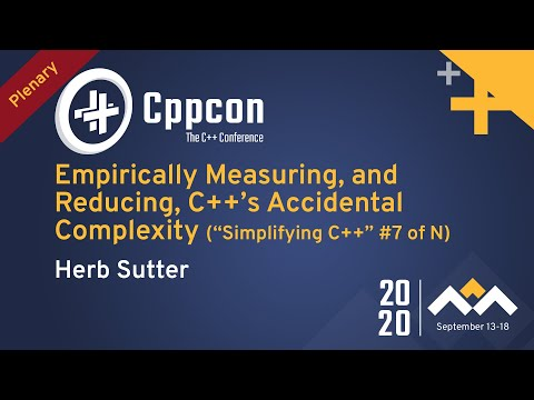Empirically Measuring, & Reducing, C++'s Accidental Complexity