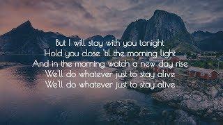 Roo Panes - Stay Alive (Lyrics) [José González Cover]