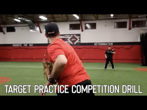 Target Practice Infield Drill for Baseball