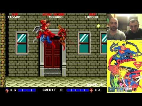 Superman // Arcade // Jugando A Dobles Cap. 27 // RETRO