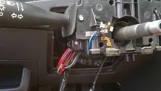 Ligando o Fio positivo da meia luz para os ledes do comando