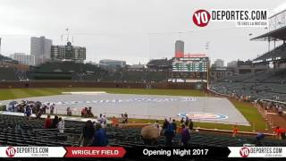 Wrigley Field Opening Night Chicago Cubs vs LA Dodgers