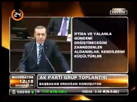 Basbakan Erdogan. TBMM Grup Toplantisi Konusmasi. [31 Ocak 2012]