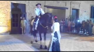 Elisabeth Jurado ballet baila con Carmelo Cuevas a