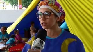 Bom Dia RN - Reportagem sobre a Colônia de Férias