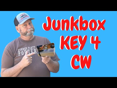 How to make a Junk Box Key for Morse Code ( CW )