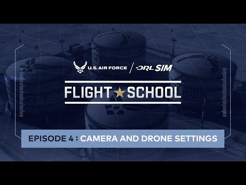 Camera Tilt & Rates: U.S. Air Force DRL SIM Flight School