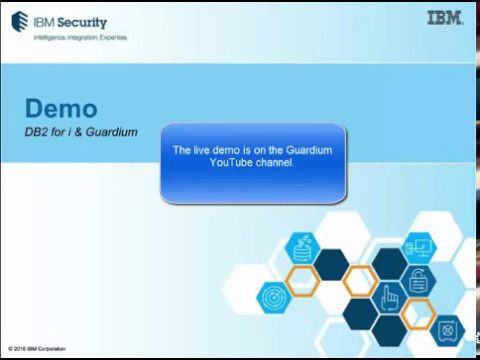 Guardium Tech Talk: DB2 for i security and compliance (Part 3)