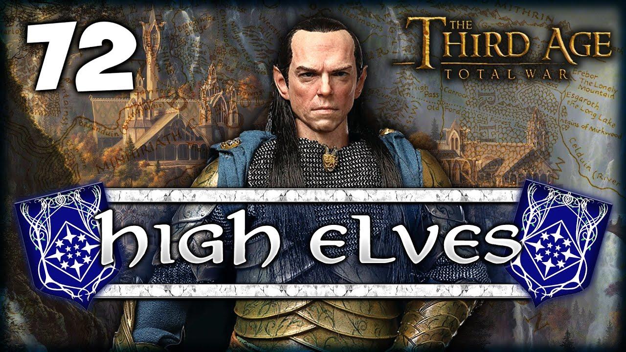 LionHeartx10 - BRINGING DOWN THE WALLS! Third Age Total War: Divide & Conquer 4.5 - High Elves Campaign #72