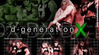 WWE - Dx Theme Song [Triple H & HBK]