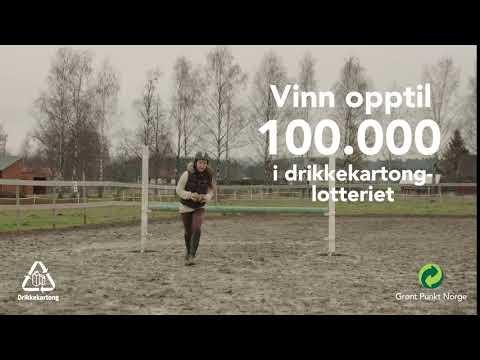 Returkartonglotteriet | Lyst på hest? | Grønt Punkt Norge (Kort)