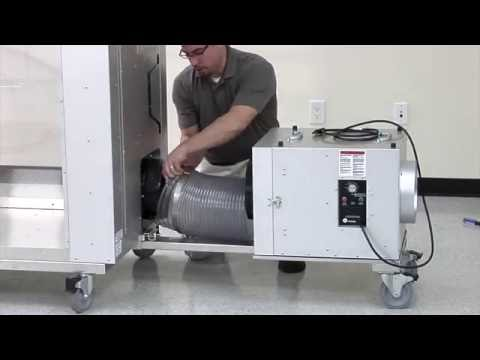 AIRE GUARDIAN® AG8000 Mobile Dust Containment Cart and Caddy Cart from Abatement Technologies®