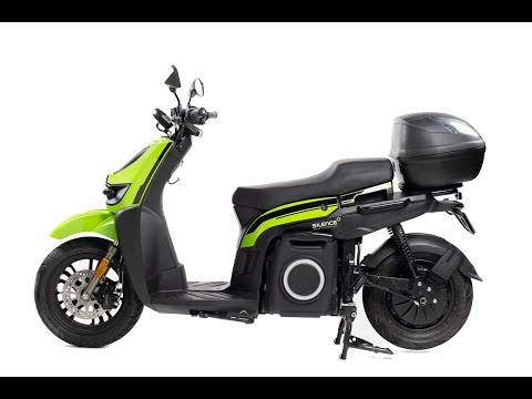 Silence S02 LS (Low Speed) 1.5kw 28mph Electric Motorcycle Ride Review - Green-Mopeds.com