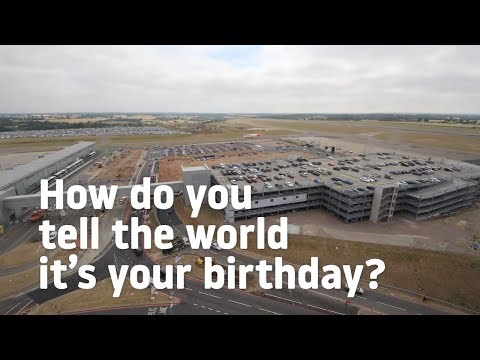 London Luton Airport 80th Birthday Surprise