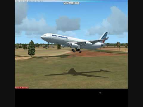 Flying around Africa 3 Algiers, Algeria FSX HD