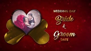 Custom Wedding Invitation Video for Whatsapp 2018 | VG-733